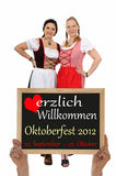 Festival de bière de Munich Photos libres de droits