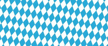 Festival de bière de Munich d'Allemand illustration bleue et blanche d'Oktoberfest - Diamond Shaped Background - de vecteur illustration libre de droits