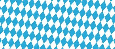 Festival de bière de Munich d'Allemand illustration bleue et blanche d'Oktoberfest - Diamond Shaped Background - de vecteur illustration libre de droits