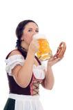 Festival de bière de Munich Image libre de droits
