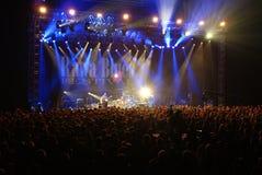 FESTIVAL DE BLEUS Images stock