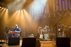 Festival 2014 de bleus de Rawa : Robert Randolph et la bande de famille Photographie stock