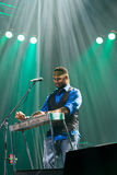 Festival 2014 de bleus de Rawa : Robert Randolph et la bande de famille Image stock