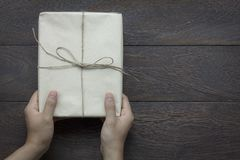 Festival de bonne année de vue supérieure ou concept de fond de jour d'anniversaire et de Joyeux Noël Photographie stock libre de droits