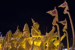 Festival 2014 de bougie de Korat Photos libres de droits