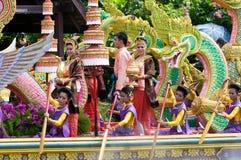 Festival de Bua da batida em Tailândia Imagens de Stock