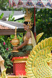 Festival de Bua da batida em Tailândia Fotografia de Stock