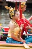 Festival de Bua da batida em Tailândia Foto de Stock Royalty Free