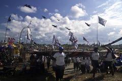 Festival de cerf-volant de Bali Photographie stock