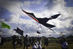 Festival de cerf-volant de Bali Photos libres de droits