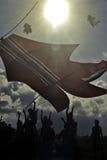 Festival de cerf-volant de Bali Images stock