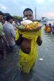 Festival de Chatt en Inde. Photos stock