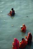 Festival de Chatt en Inde Photos libres de droits