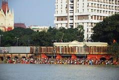 Festival de Chatt en Inde Photo libre de droits