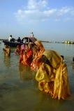 Festival de Chatt en Inde Photographie stock libre de droits