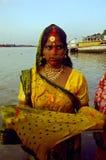 Festival de Chatt en la India. Imágenes de archivo libres de regalías