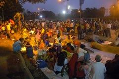 Festival de Chatt en la India. fotografía de archivo libre de regalías
