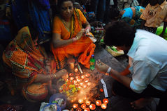 Festival de Chatt en la India Foto de archivo