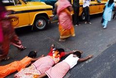 Festival de Chatt en la India Imagen de archivo