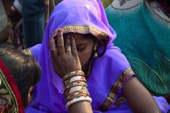 Festival de Chhath Foto de archivo