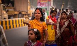 Festival de Chhath Fotografía de archivo libre de regalías