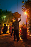 Festival de Chhath Imagen de archivo