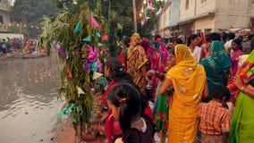 Festival de Chhath Imagen de archivo libre de regalías