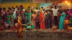 Festival de Chhath Fotos de archivo libres de regalías