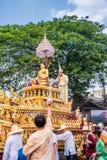 Festival de Chiang Mai Songkran Imagenes de archivo