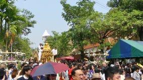 Festival de Chiang Mai Songkran almacen de video