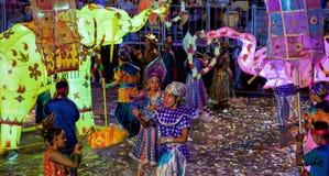 Festival 2012 de Chingay en Singapur Imagen de archivo libre de regalías
