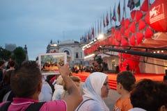 Festival de cine 2014 de Venecia Imagen de archivo