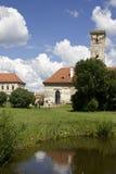 Festival de cine internacional de Transilvania llevado a cabo en el castillo de Banffy imágenes de archivo libres de regalías