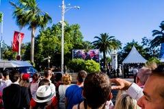 Festival de cinema 2017 de Cannes Foto de Stock