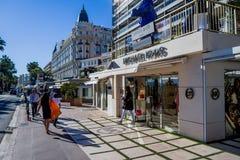Festival de cinema 2017 de Cannes Imagem de Stock Royalty Free