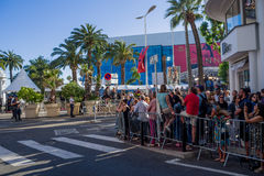 Festival de cinema 2017 de Cannes Foto de Stock Royalty Free