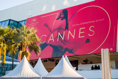 Festival de cinema 2017 de Cannes Imagens de Stock Royalty Free