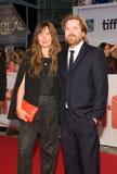 2017 festival de cinema internacional de Toronto - premier do ` do ` Borg/McEnroe - tapete vermelho imagem de stock royalty free