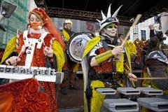 Festival de cobre amarillo internacional Foto de archivo libre de regalías