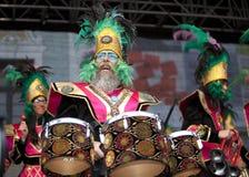 Festival de cobre amarillo internacional Imagenes de archivo