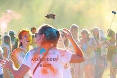 Festival de colores Foto de archivo libre de regalías