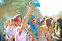 Festival de colores Imagenes de archivo