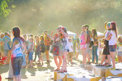 Festival de colores Foto de archivo