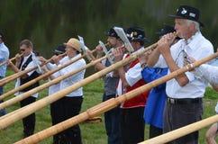 Festival DE Cor des Alpes stock afbeelding