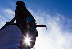 Festival de costume de masque de Surva photos libres de droits