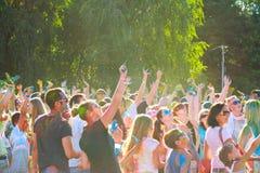Festival de couleurs Images libres de droits