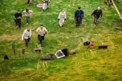 Festival de culture médiévale Images libres de droits