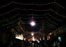 Festival de dévotion de déesse indienne de Navratri images stock