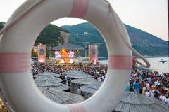 Festival de danse de mer - étape de Paradiso de danse Images libres de droits