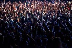 Festival de danse de mer - foule sur la scène principale Photos stock